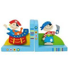 Bigjigs toys Podpórka pod książki dla dzieci - piraci
