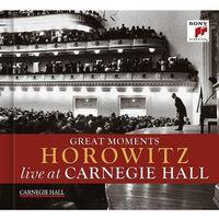 Great Moments of Vladimir Horowitz: Live at Carnegie Hall (CD) - HOROWITZ, VLADIMIR