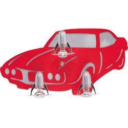 Kinkiet Nowodvorski Auto III 4056 lampa ścienna 3x40W E14 czerwony (5903139405690)