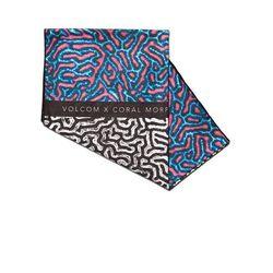 Volcom Ręcznik - coral morph towel multi (mlt) rozmiar: os