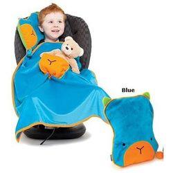 Trunki Kocyk i poduszeczka snoozihedz - blue