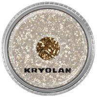 Kryolan  polyester glimmer medium (light gold) średniej grubości sypki brokat - light gold (2901)