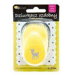 Dziurkacz ozdobny Dalprint JCDZ-110-349/2,5cm - bambi - produkt z kategorii- Ozdobne dziurkacze
