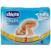 CHICCO Mini 25szt. (3-6kg) – pieluszki jednorazowe (8058664029587)
