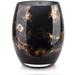 CRISTIE Wazon 20x16cm czarny marmur