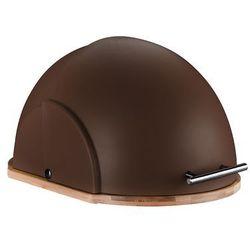 Chlebak helmet 37x26x22cm brązowy marki Florentyna