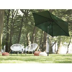 Parasol ogrodowy Ø270 cm zielony varese marki Beliani