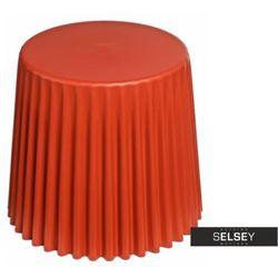 Selsey stolik kawowy cork średnica 47 cm dark orange