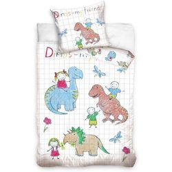 Tip Trade Dziecięca pościel bawełniana Dino, 140 x 200 cm, 70 x 90 cm - sprawdź w wybranym sklepie