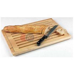 Deska drewniana do krojenia pieczywa 530x325 mm 956