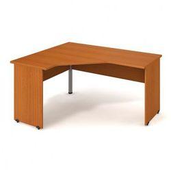 Stół ergo prawy, 1600 x 1200 x 755 mm, czereśnia marki B2b partner