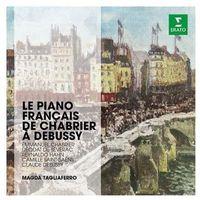 The Erato Story. Le Piano Francais De Chabrier A Debussy (CD) - Magda Tagliaferro