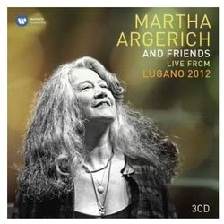 Martha Argerich - LIVE FROM LUGANO FESTIVAL 2012 (LIMITED) z kategorii Muzyczne DVD