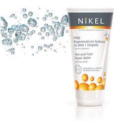 Balsam do stóp z masłem shea o działaniu naprawczym i regenerującym - 140ml - , marki Nikel