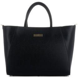 Vittoria gotti torebki skórzane duży firmowy włoski kufer w rozmiarze xxl czarne (kolory(
