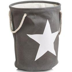 Zeller Kosz na pranie star- 61 litr, kolor szary, (4003368142630)