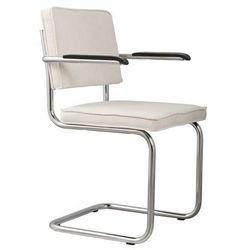 Zuiver Fotel RIDGE RIB biały 1006053, 1006053