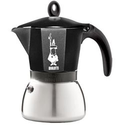 Bialetti kawiarka na indukcję moka induzione 6 tz / fil 300 ml czarna