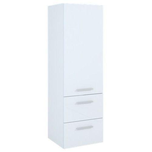 Kwadro słupek łazienkowy 40x36,2x128,4 cm biały 162328, produkt marki Elita