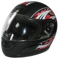 Kask motocyklowy MOTORQ Torq-i5 integralny czarny mat (rozmiar L)
