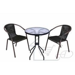 Stół ogrodowy z krzesłami marki 1