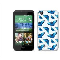 Fantastic Case - HTC Desire 320 - etui na telefon Fantastic Case - niebieskie motyle, kup u jednego z partner�