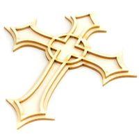 Krzyż 3d marki Crafty moly