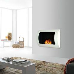 Biokominek dekoracyjny Convex 60 x 45 cm biały - produkt dostępny w ErgoExpert.pl