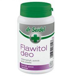 DERMAPHARM Dr Seidel Flawitol Deo preparat niwelujący nieprzyjemne zapachy z kategorii Witaminy dla psów