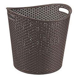 Koszyk My Style okrągły ciemny brąz, towar z kategorii: Kosze na pranie