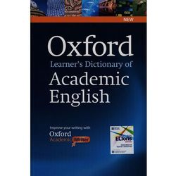 Oxford Learners Dictionary of Academic English with Academic iWriter on CD-ROM (kategoria: Podręczniki)