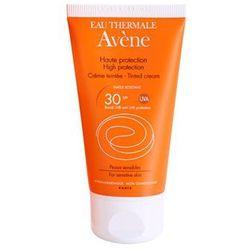 Avene  sun sensitive ochronny krem tonujący do twarzy spf 30, kategoria: pozostałe kosmetyki do opalania
