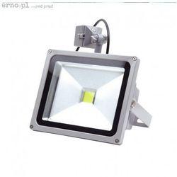 Naświetlacz LED z czujnikiem ruchu XH2501 20W 230V 3500K 120 st. COB IP65 Ciepła Biel ERNO (świetlówka)