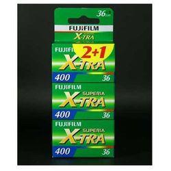 Fuji Superia X-Tra 400/36 x 3 negatyw kolorowy typ 135 - sprawdź w wybranym sklepie