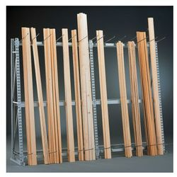 Regały do przechowywania profili - jednostronny, 3300x1400x500 mm, podstawowy