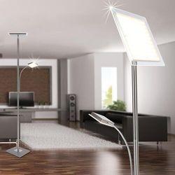 Leuchten Direkt HANS Lampa Stojąca LED Stal nierdzewna, 2-punktowe - Nowoczesny - Obszar wewnętrzny - HANS - Czas dostawy: od 3-6 dni roboczych (4043689946869)