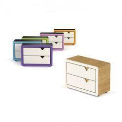 Komoda 2 szuflady Frame Design, 6 kolorów, Timoore, towar z kategorii: Szafy i szafki