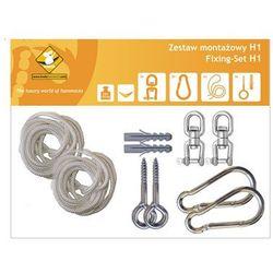 Zestaw montażowy H1 do hamaków, biały koala/zh1 - produkt z kategorii- Pozostałe poza domem