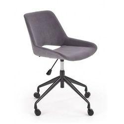 Młodzieżowy fotel obrotowy victor - ciemny popielaty marki Producent: elior