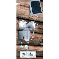 Globo SOLAR lampa solarna LED Srebrny, 2-punktowe - Nowoczesny - Obszar zewnętrzny - SOLAR - Czas dostawy: od