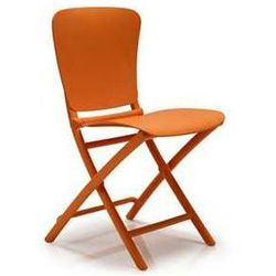 Designerskie składane krzesło ogrodowe Nardi Zic Zac pomarańczowe - sprawdź w wybranym sklepie
