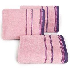 Ręcznik Kora 70x140 Eurofirany jasny liliowy