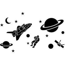 Szabloneria Szablon malarski z tworzywa, wielorazowy, wzór dla dzieci 61 - kosmos