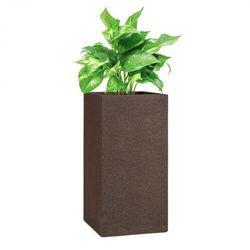 Blumfeldt solid grow rust, pojemnik na rośliny, 40 x 80 x 40 cm, fibreclay, kolor rdzawy