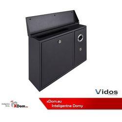 Vidos S551-skn skrzynka na listy z wideodomofonem