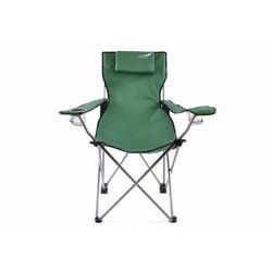 Krzesło turystyczne wędkarskie DIVERO składane ciemnozielone