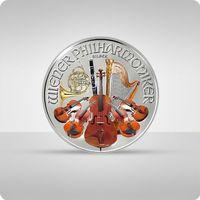 Wiedeńscy Filharmonicy 1 uncja srebra kolor