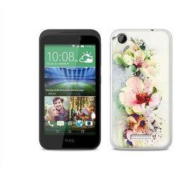 Fantastic Case - HTC Desire 320 - etui na telefon Fantastic Case - róże herbaciane z kategorii Futerały i p