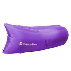 Dmuchana sofa  sofair materac fotel - kolor fioletowy, marki Insportline