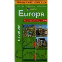 Europa. Mapa Drogowa W Skali 1:4 000 000, praca zbiorowa